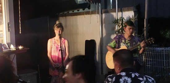Live at Endouji Ginza in Aug 2015